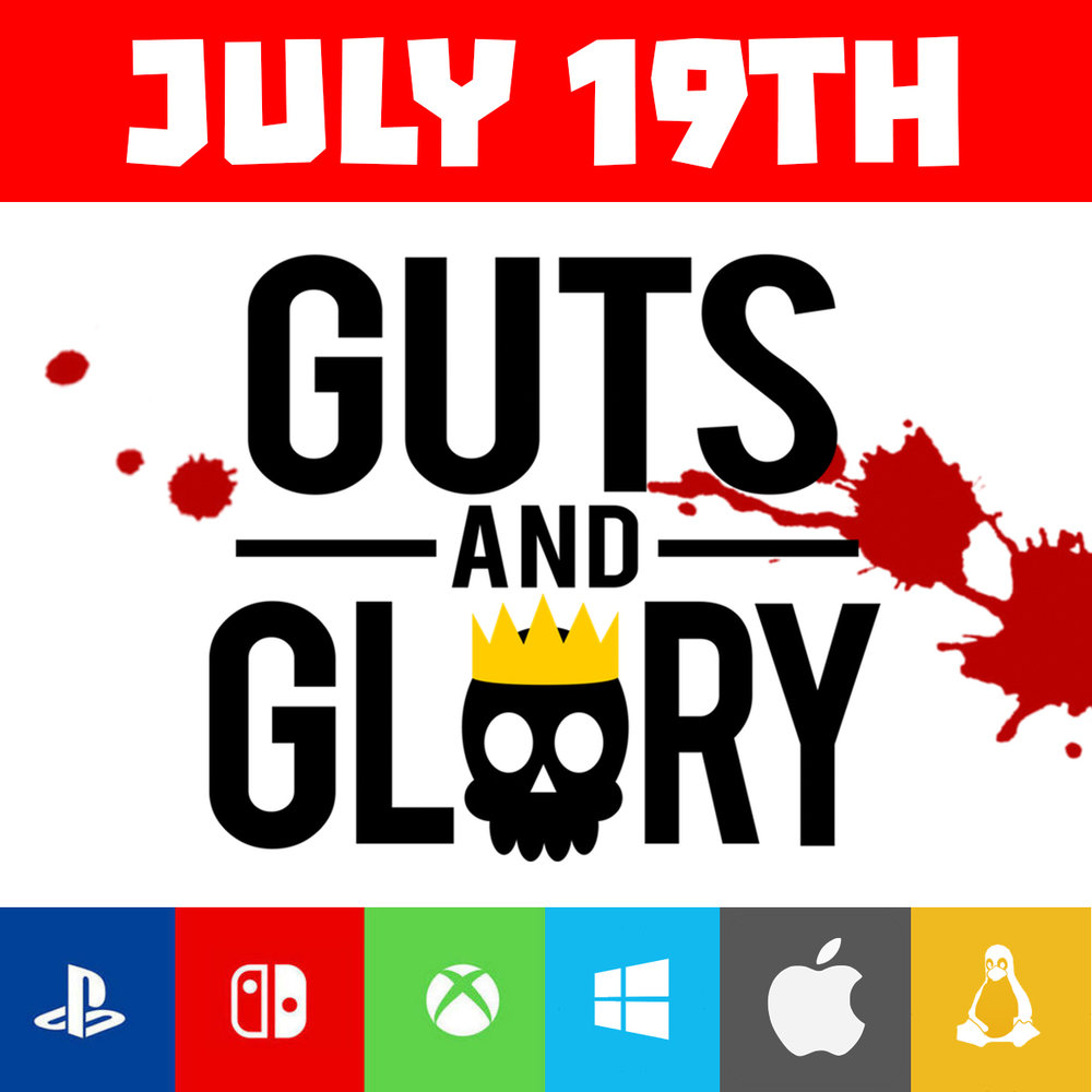 Guts and Glory Launch Day