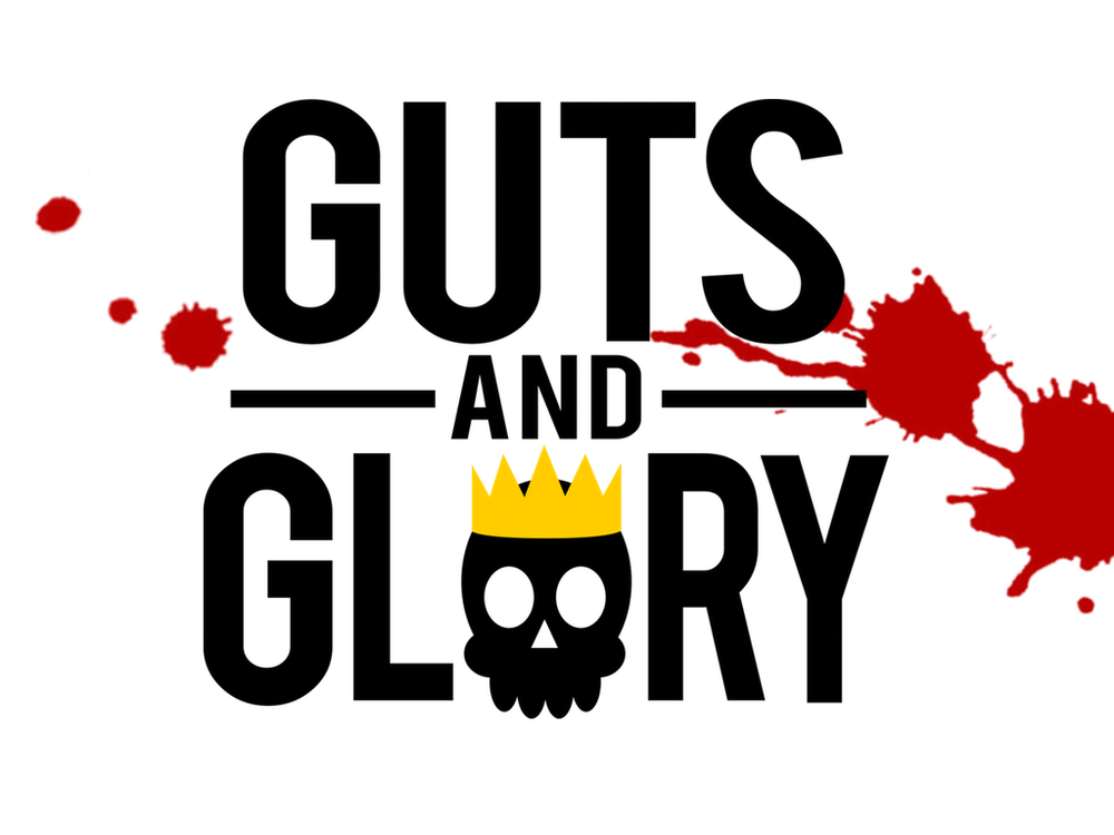 Guts and Glory title logo