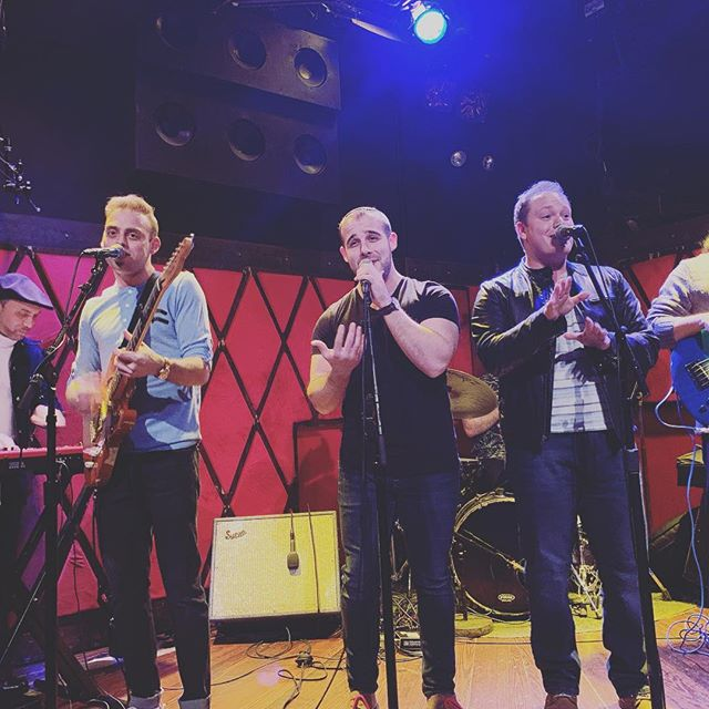 #aboutlastnight ...thanks to the 120+ family, friends, and fans that packed Rockwood wall to wall last night. We hope you had as great a time as we did! We'll see you again soon. Till then, ✌🏻💙⛵️