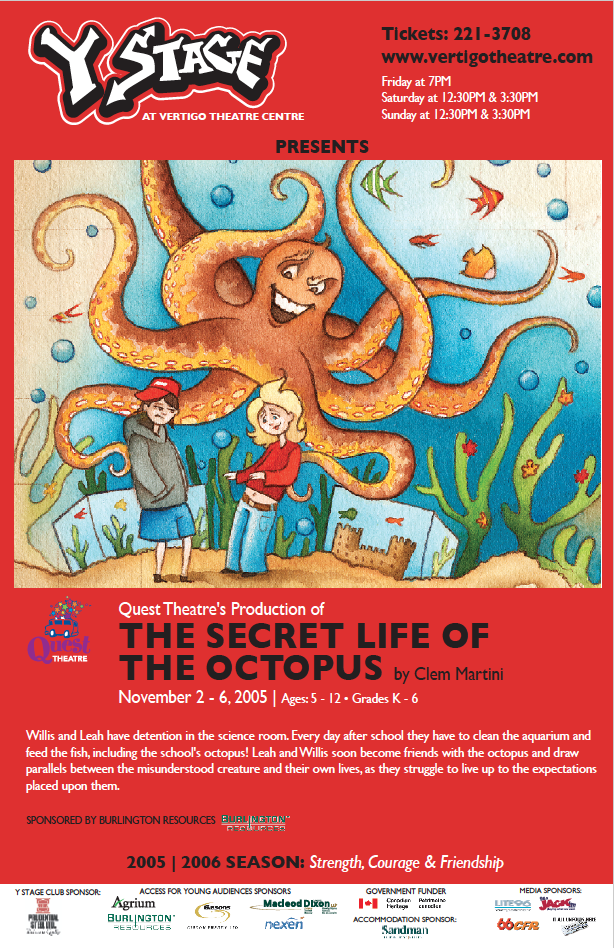 THE SECRET LIFE OF THE OCTOPUS