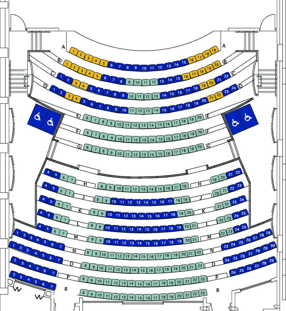 Playhouse Seating Map (click to enlarge)