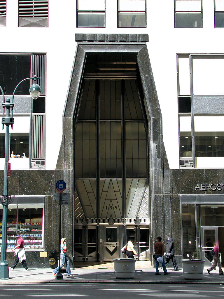 Entrance to the famed Chrysler Building in New York City, by Norbert Nagel / Wikimedia Commons |  License: CC BY-SA 3.0