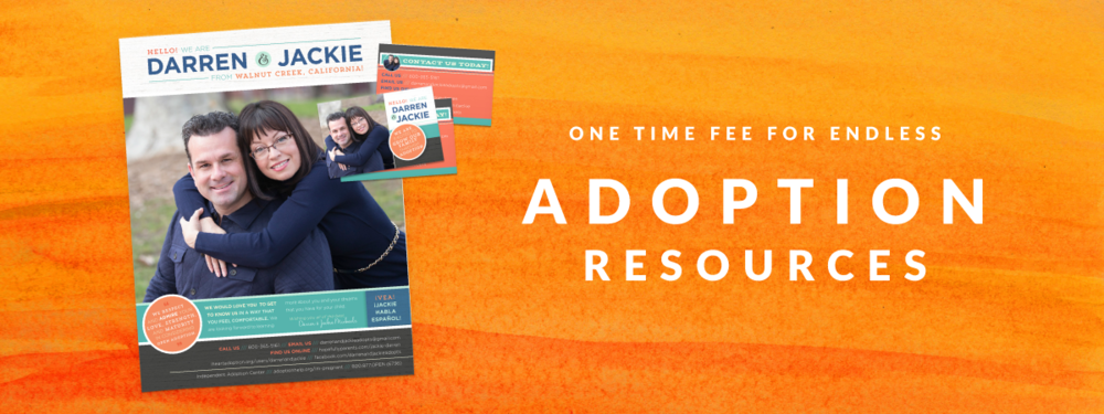 one time fee for endless adoption resources