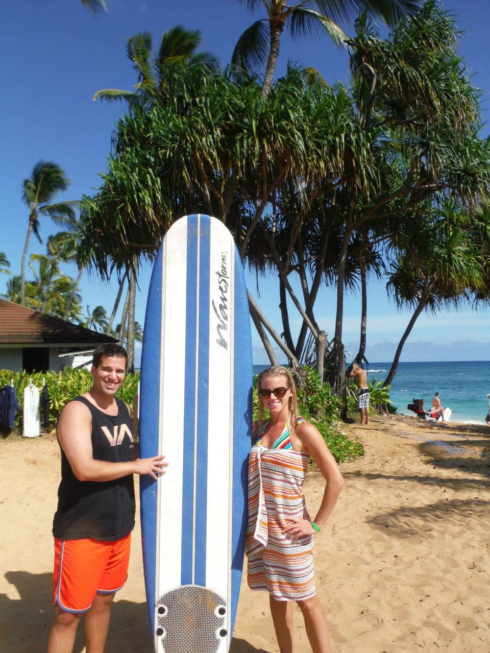 Surf's up in Hawaii!