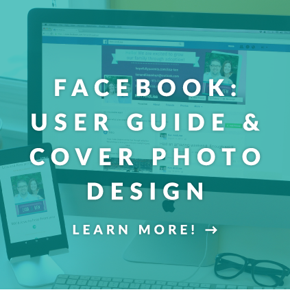 Facebook user guide and cover photo design hopefully parents adoption outreach materials