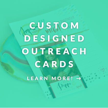 custom designed outreach cards hopefully parents adoption materials