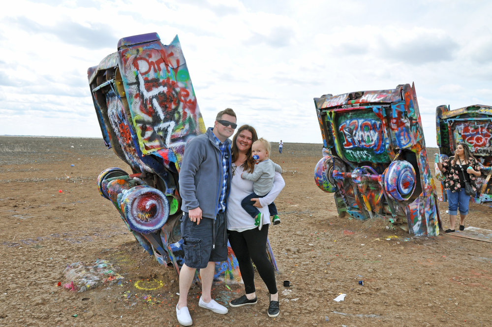How cool is this Cadillac Ranch?