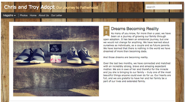 adoption blogs