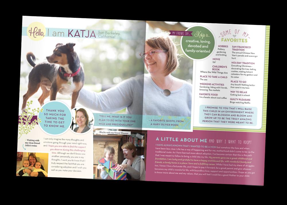 Katja is adopting