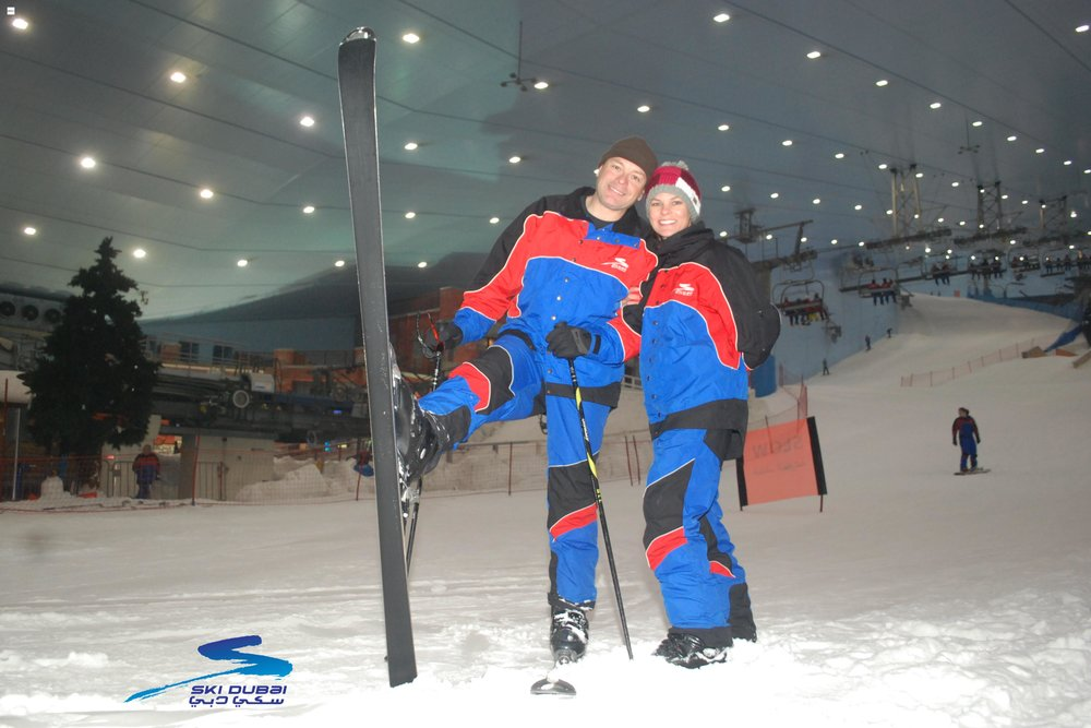 We love to ski!