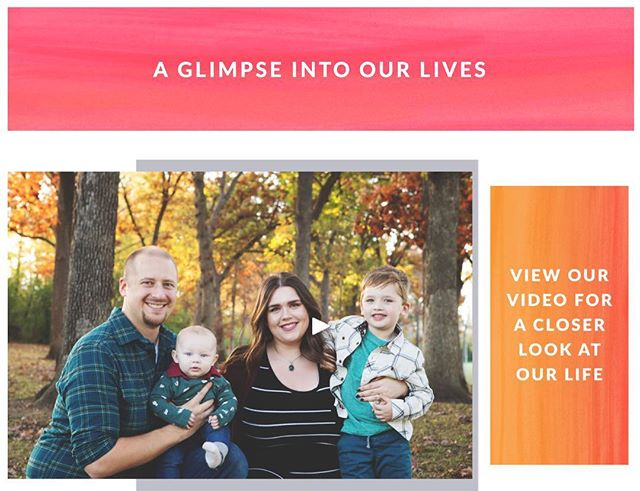 Take a peek at our new HopefullyParents profile pages! In addition to designing your personal listing we can create a custom adoption video with your photos and video clips!  https://www.hopefullyparents.com/jennifer-wesley-adopt/ • • • #adoption #adoptionislove #adoptionhelp #adoptionrocks #adotionoutreach #theessentialguidetoadoptionoutreach