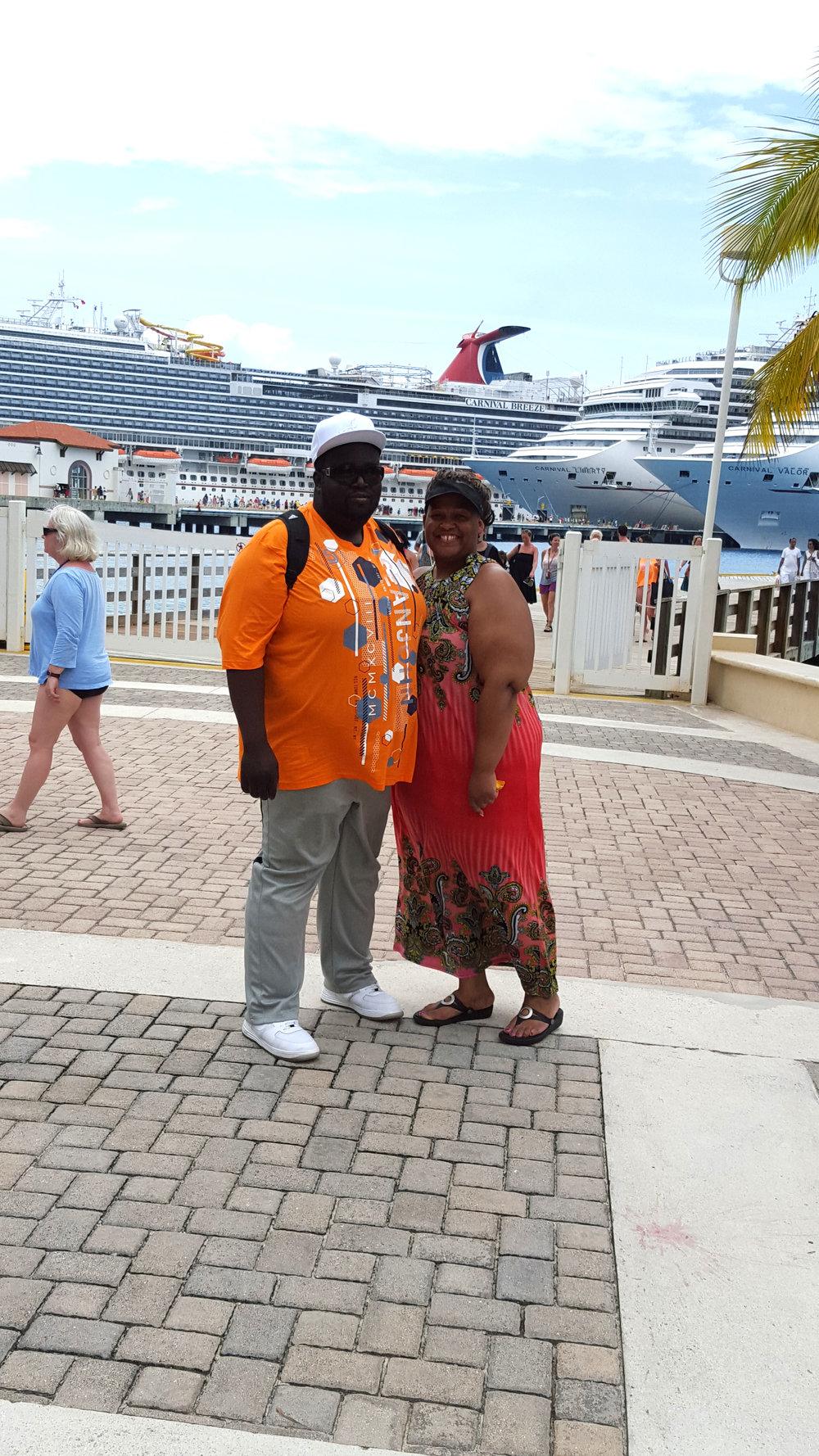 Enjoying a cruise to Cozumel, Mexico