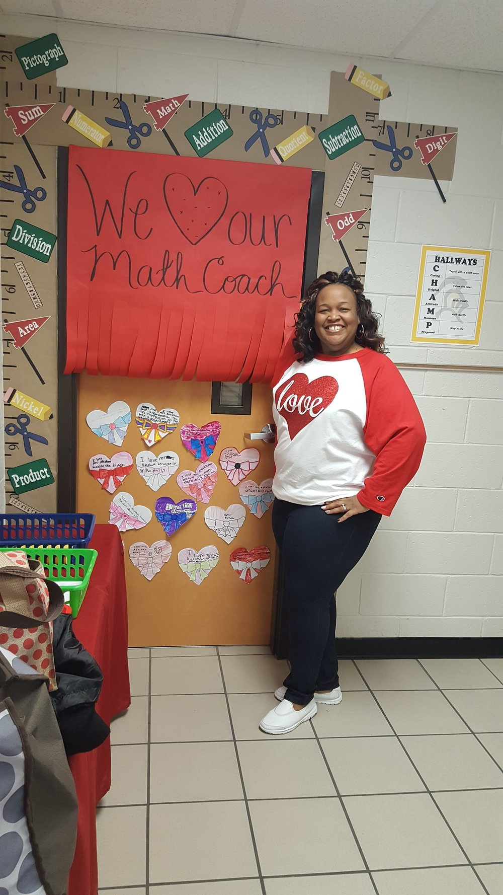 Love from my class on Valentine's Day