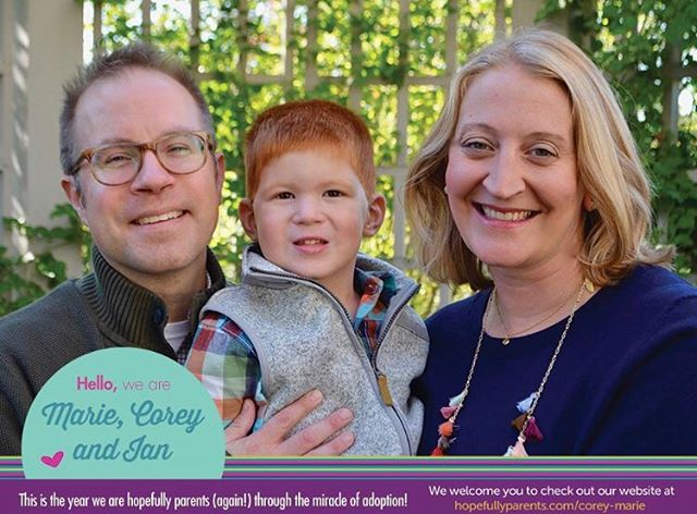 Meet Marie and Corey! The can't wait to become parents again, and Ian can't wait for a baby brother or sister!  Get to know them here: https://www.hopefullyparents.com/corey-marie • • • #hopefullyparents #adopted #adoptionrocks #adoptionislove #adoptionoutreach #theessentialguidetoadoptionoutreach