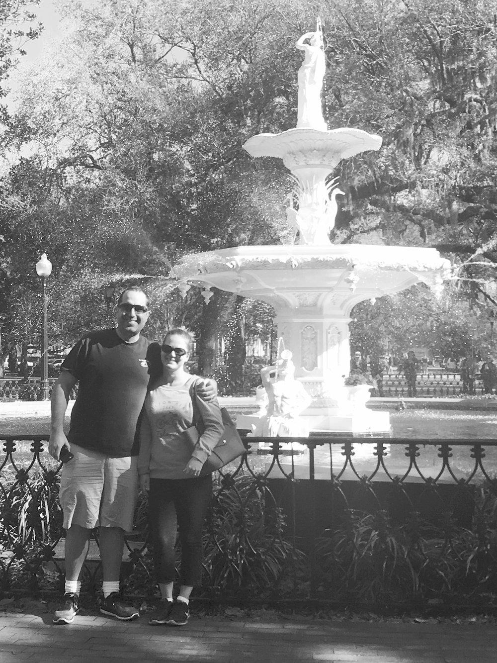 Our favorite spot in Savannah, Georgia