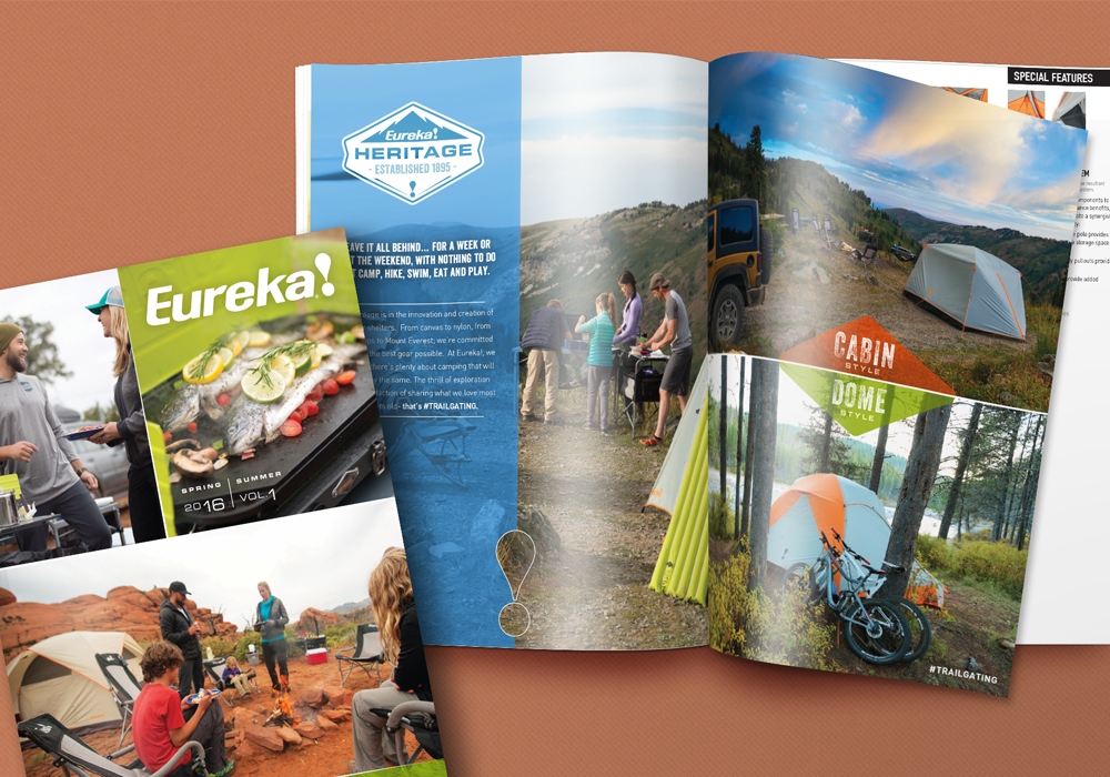 Eureka Product Catalog Design