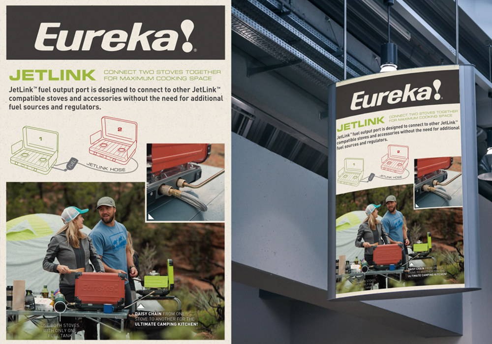 Eureka Print Ads Design