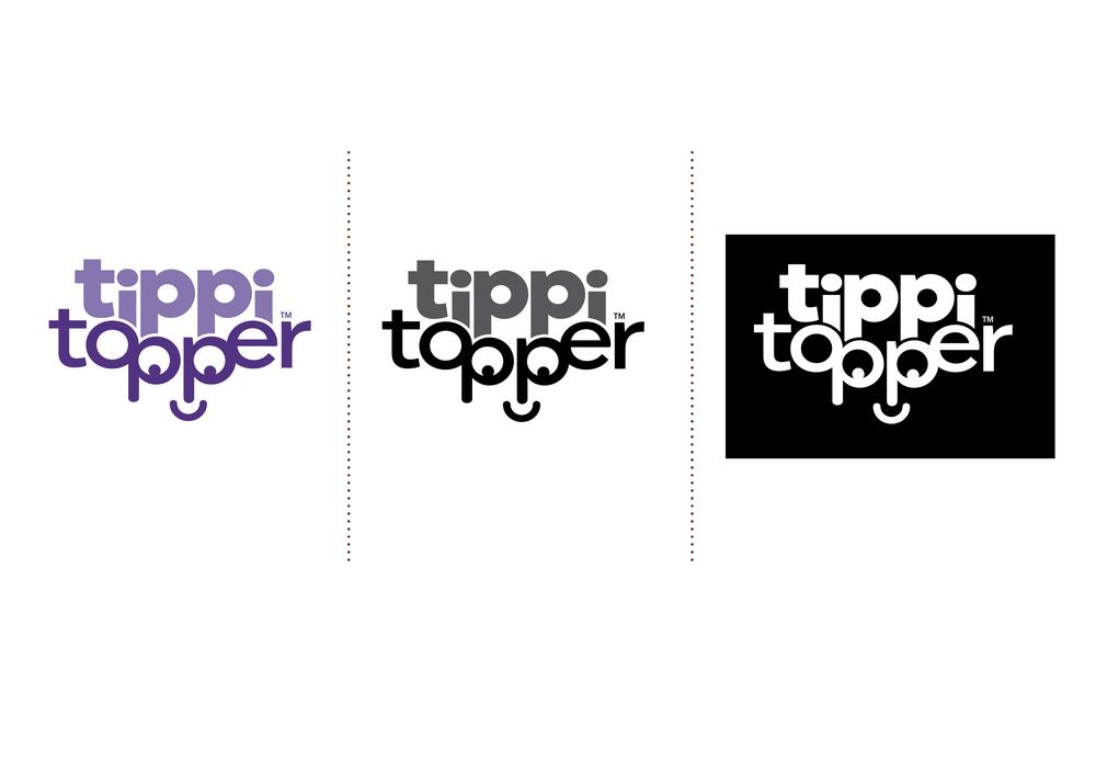 Tippi Topper Logo Design