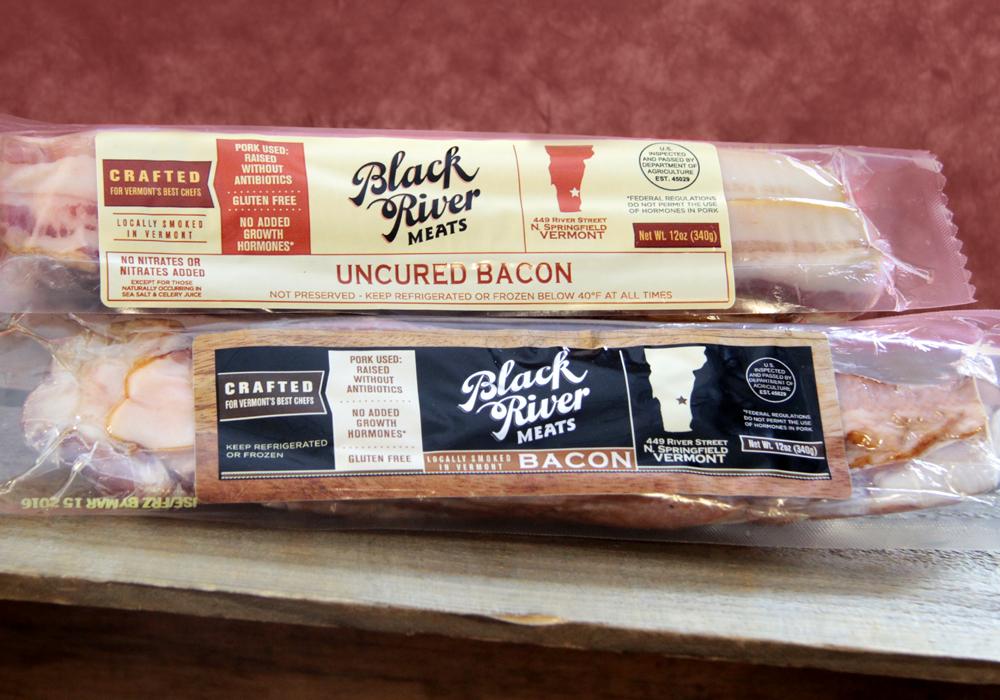 Black River Meats Crispy Food Packaging Design