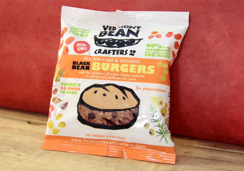 Vermont Bean Crafters Food Packaging Design