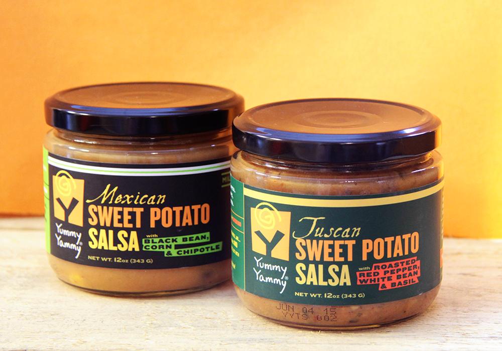 Yummy Yammy Food Label Design