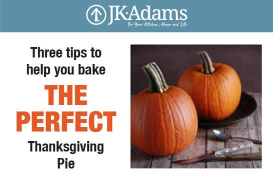J.K. Adams Thanksgiving Food Blogging