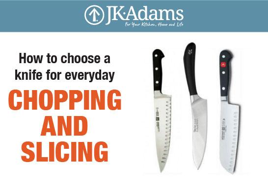 J.K. Adams Knife Food Blogging