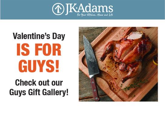 J.K. Adams For Guys Food Blogging