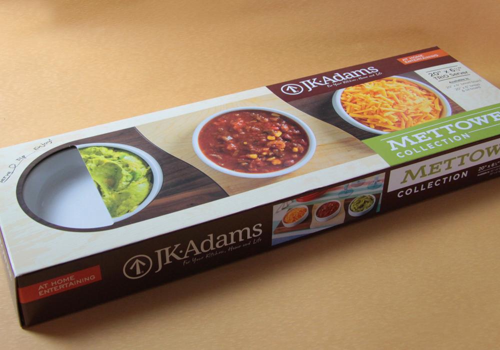 J.K. Adams Die-Line Packaging Design