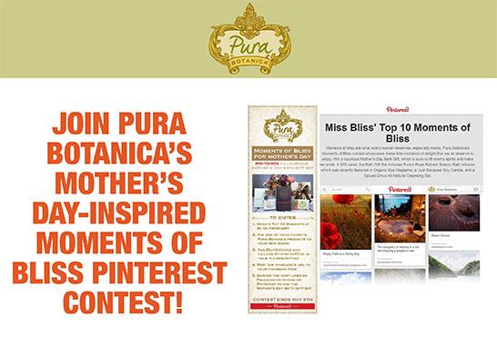 Pura Botanica Blogging