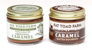 A packaging redesign for national brand Fat Toad Farm.
