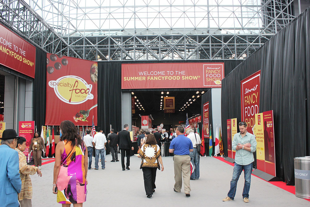 summer fancy food show booth design