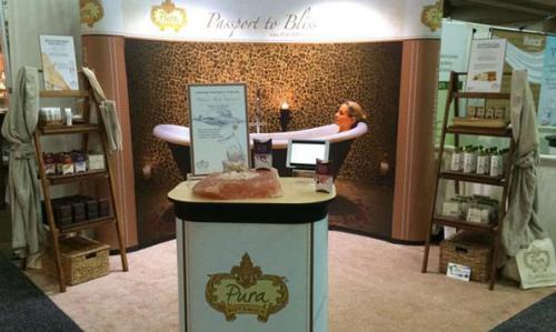 The booth we created for Pura Botanica was unique, engaging and left a lasting impression on visitors.
