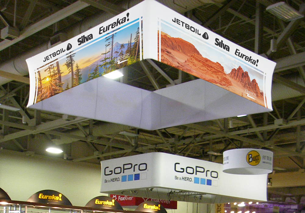 Johnson Outdoors Trade Show Display Design