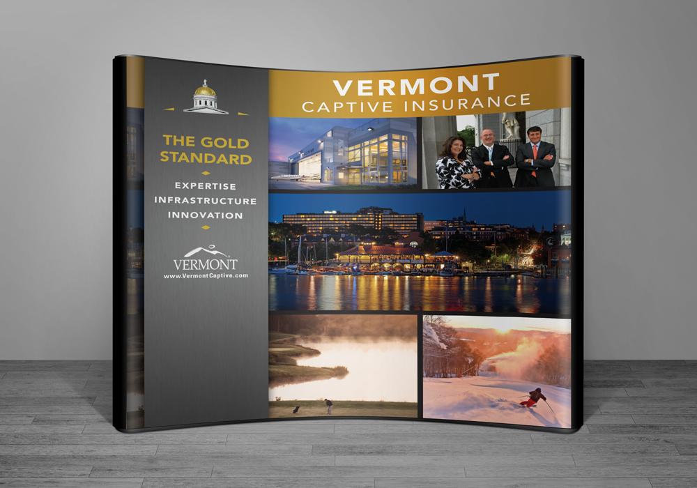 Vermont Captive Trade Show Display Design