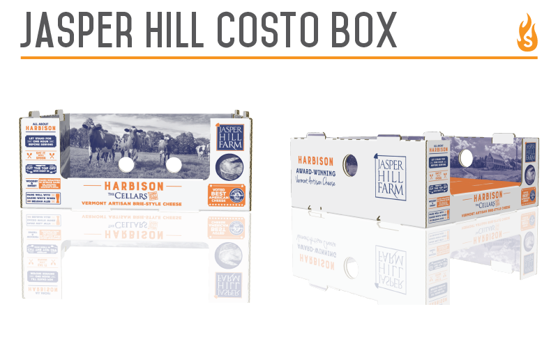 Jasper Hill Costco Box Design