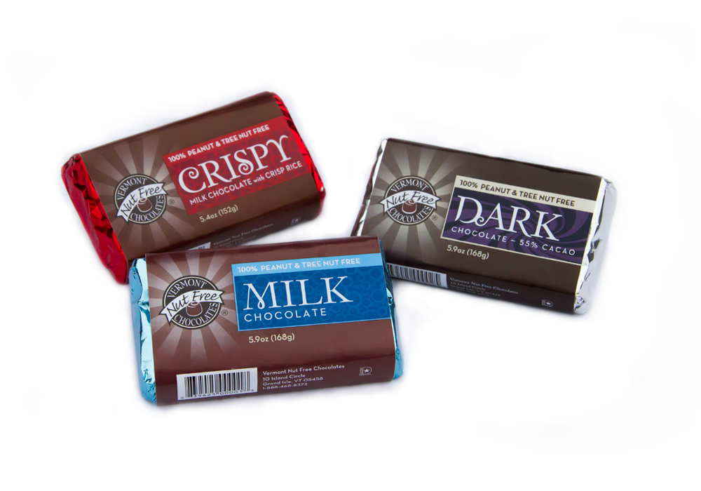 Vermont Nut Free Chocolate Food Packaging Design