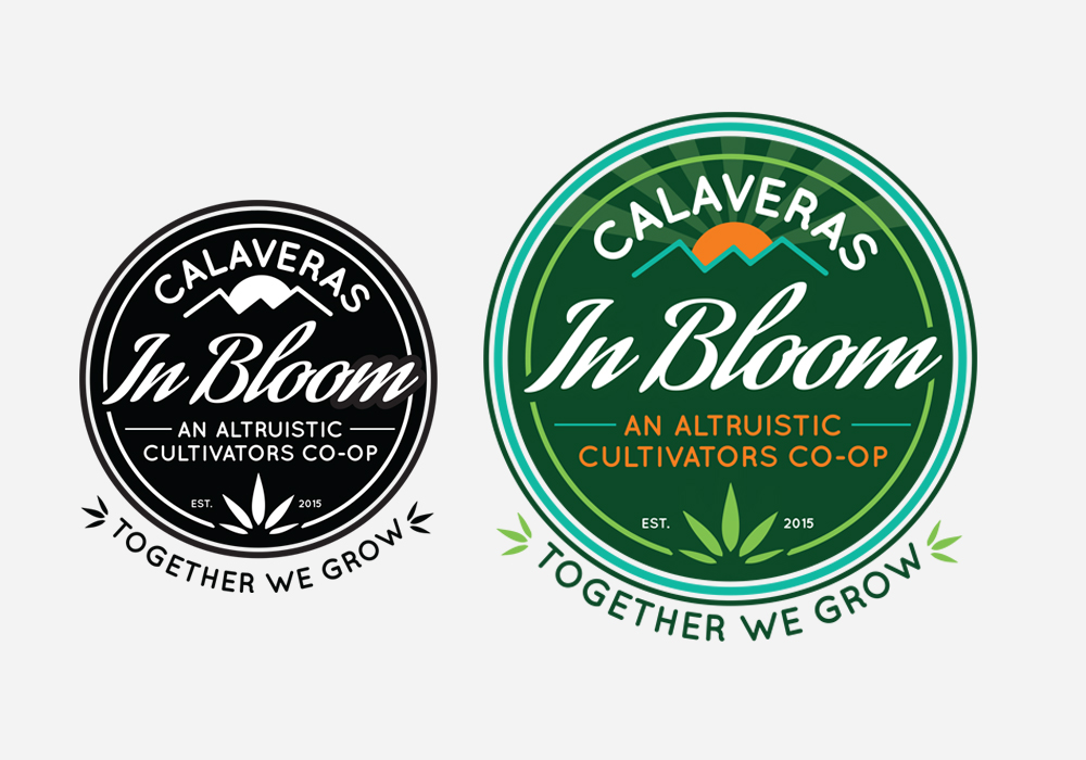 Calaveras In Bloom Logo Design