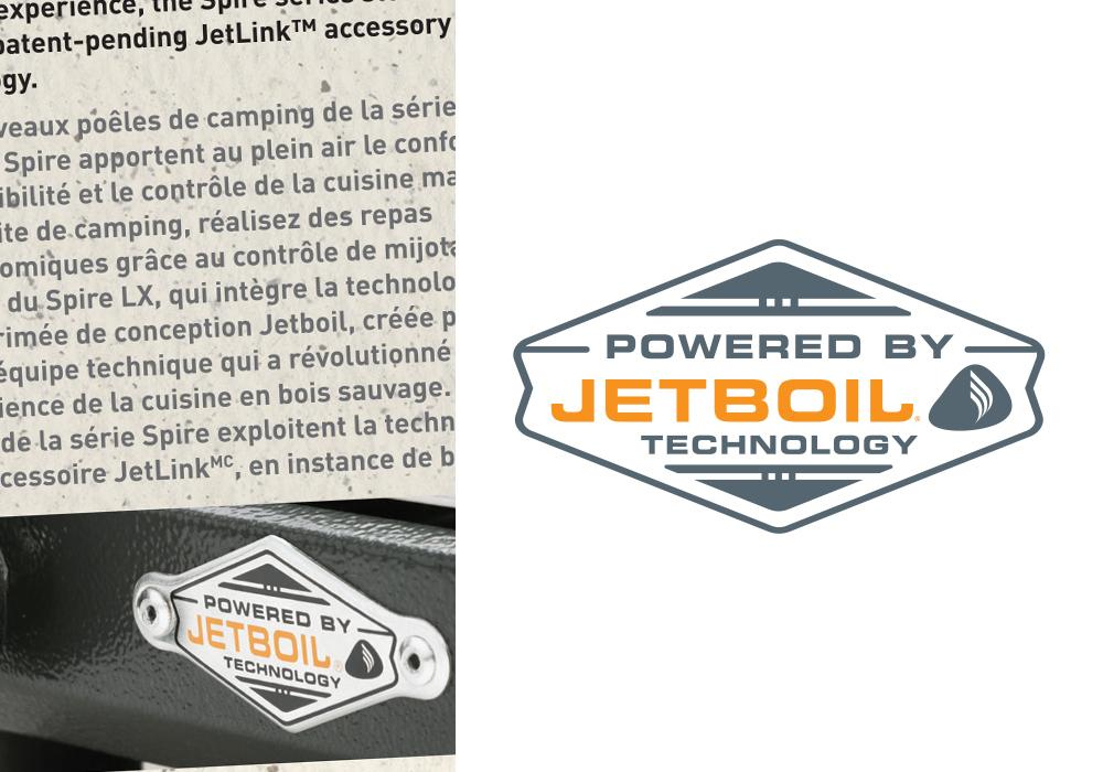 Jetboil Logo Design