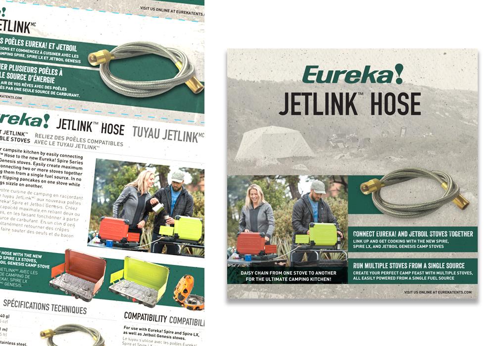 Eureka Jetlink Hose Package Design