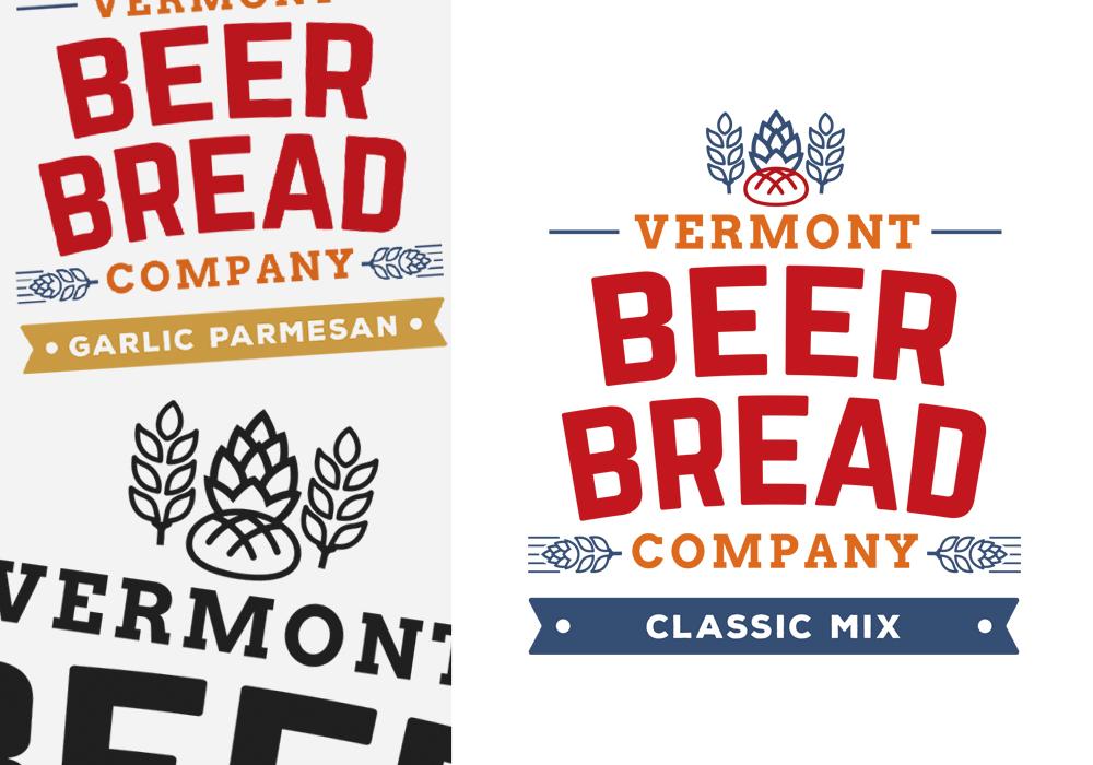 Vermont Beer Bread Company Logo Design