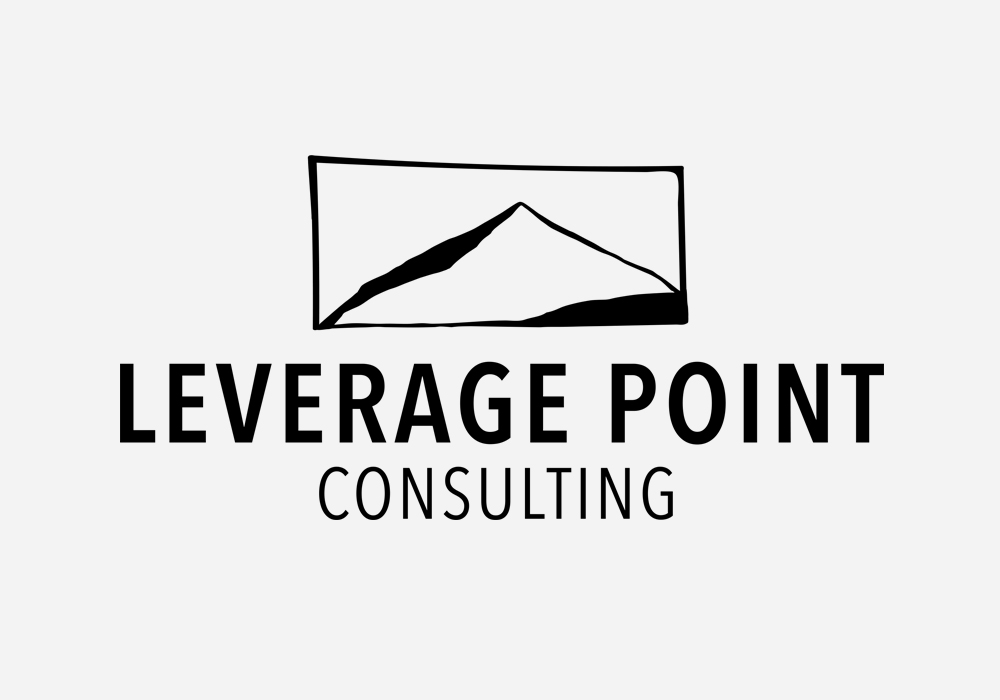 Leverage Point Consulting Logo Design