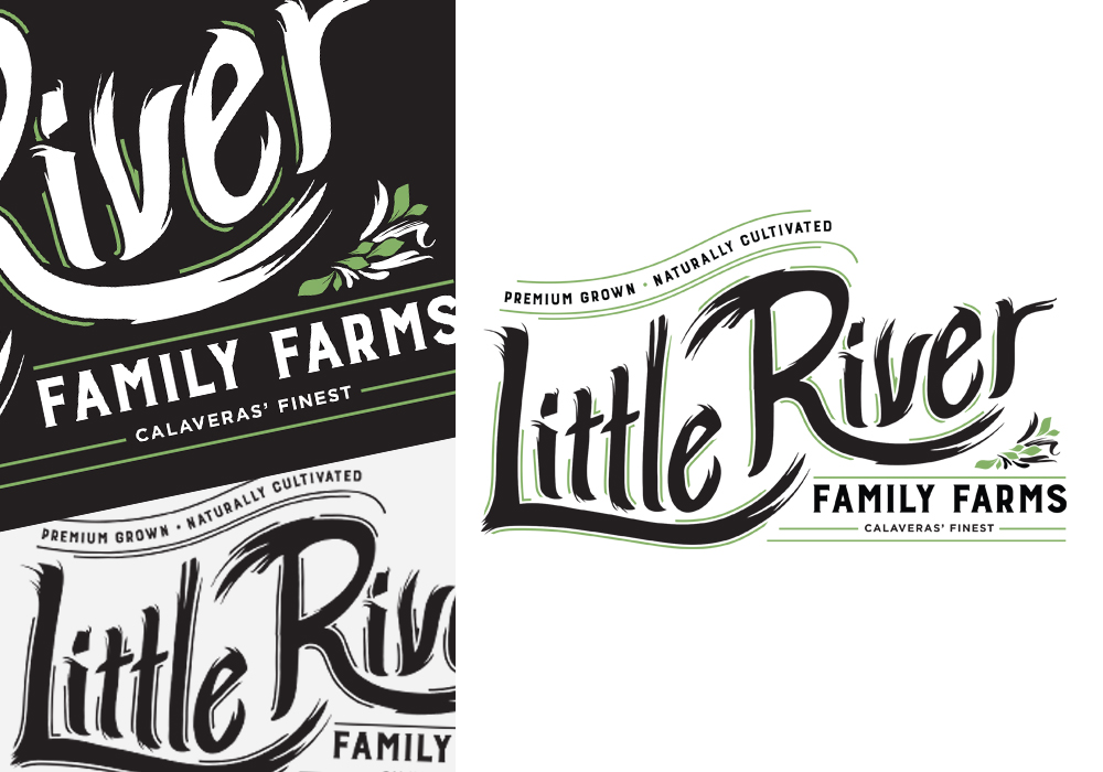 Little River Family Farms Logo Design