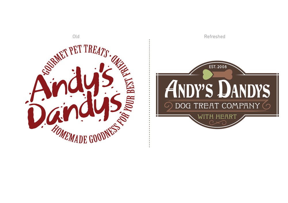 Andy's Dandys Logo Design