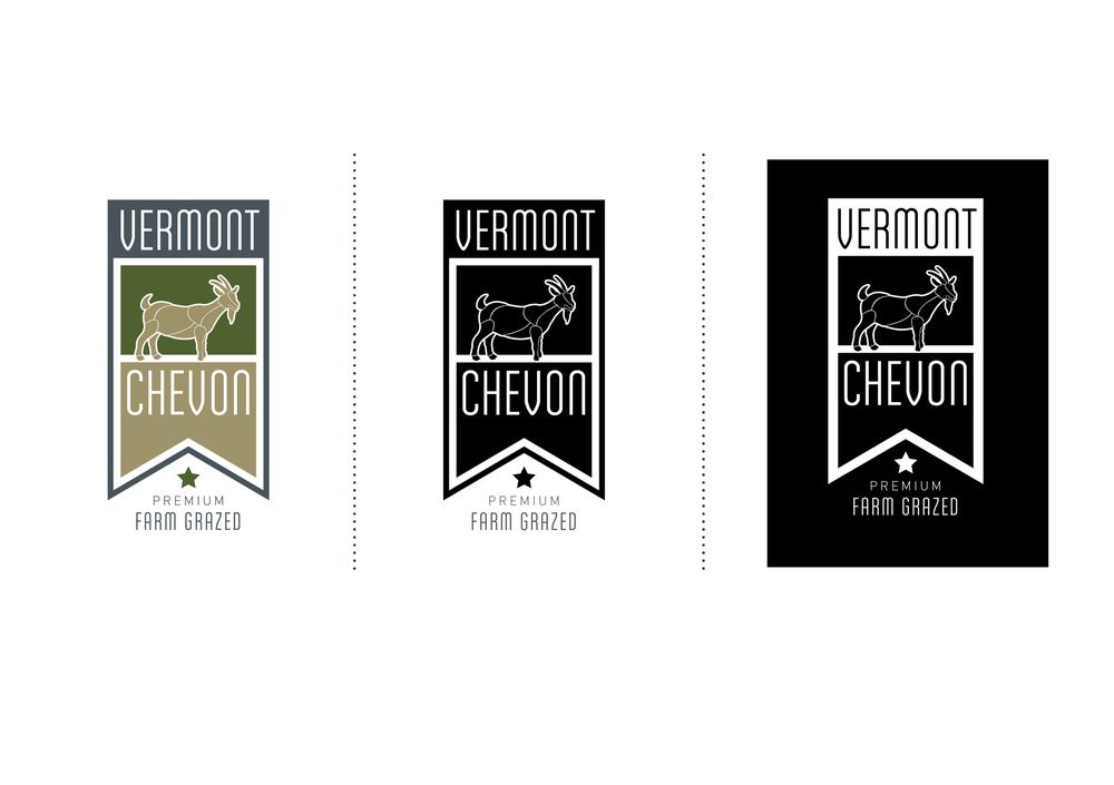 Vermont Chevon Logo Design