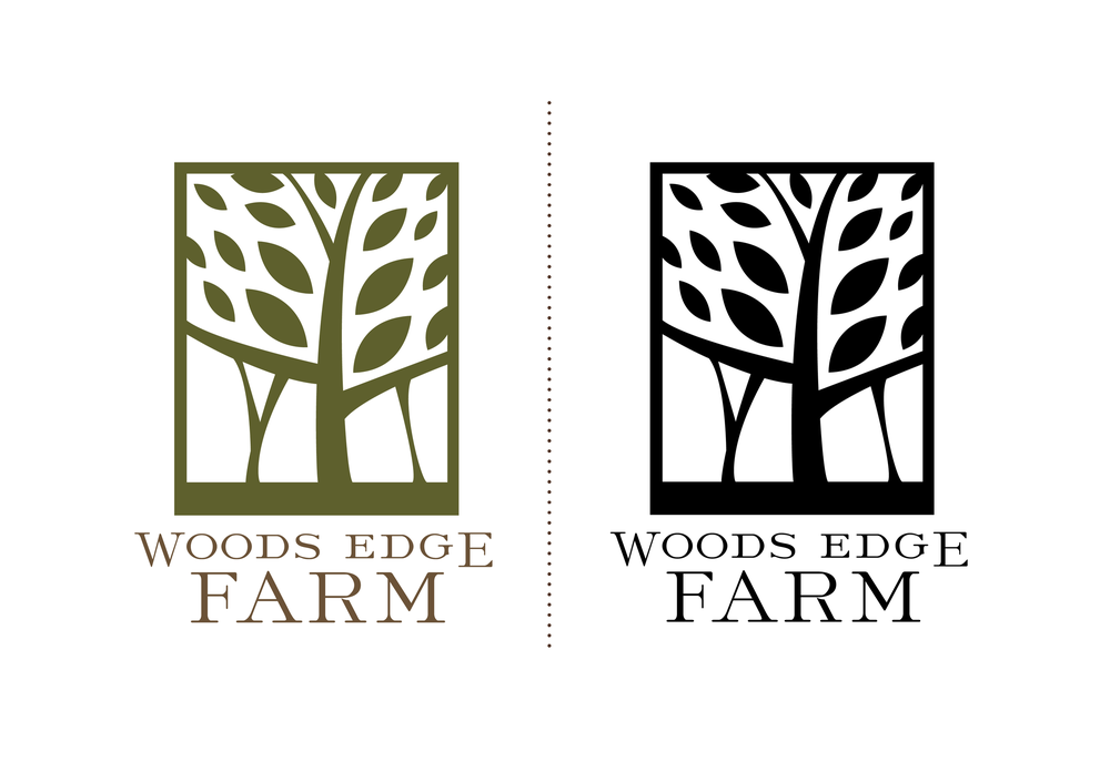 Woods Edge Farm Logo Design