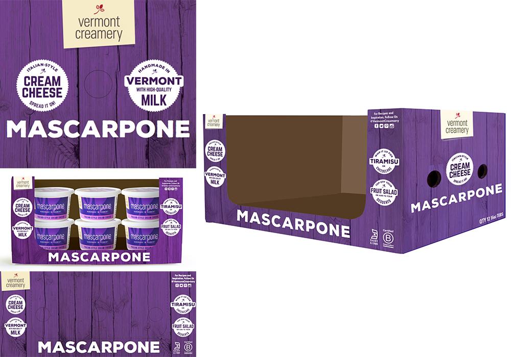Vermont Creamery Marscapone Box Design