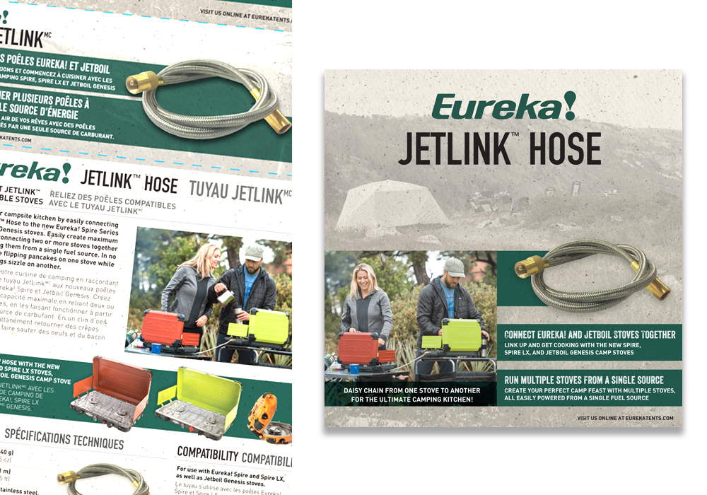 Eureka Jetlink Hose Package Design