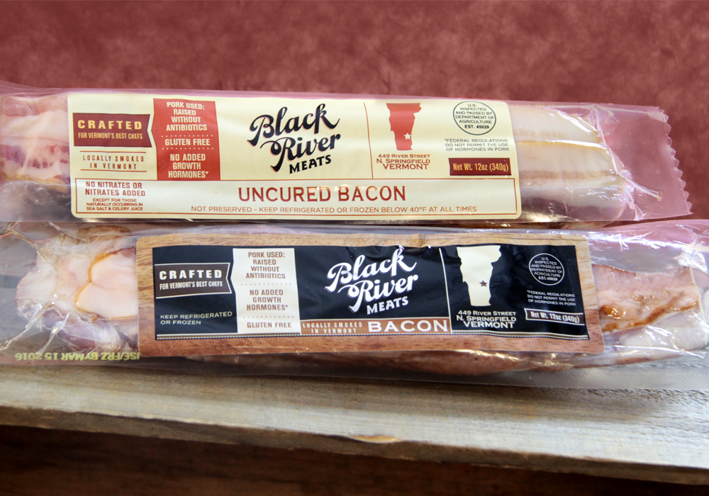 Black River Meats Crispy Food Packaging Design