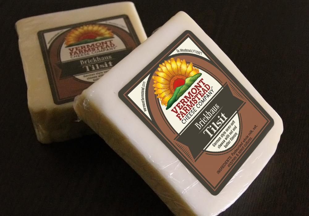 Vermont Farmstead Cheese Packaging Design